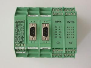 Řídící systém RS06 využívaný zejména pro měření fázorů v energetice