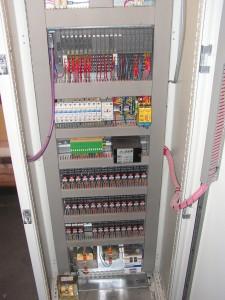 Distribuovaný řídící systém tunelové pece